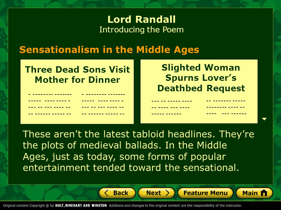 Sensationalism in the Middle Ages These aren't the latest tabloid headlines.