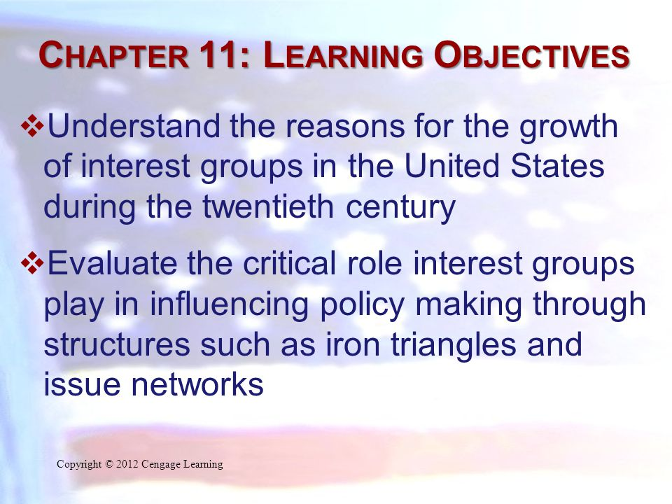 P LURALISM AND THE I NTEREST G ROUP S YSTEM  What Is an Interest Group.