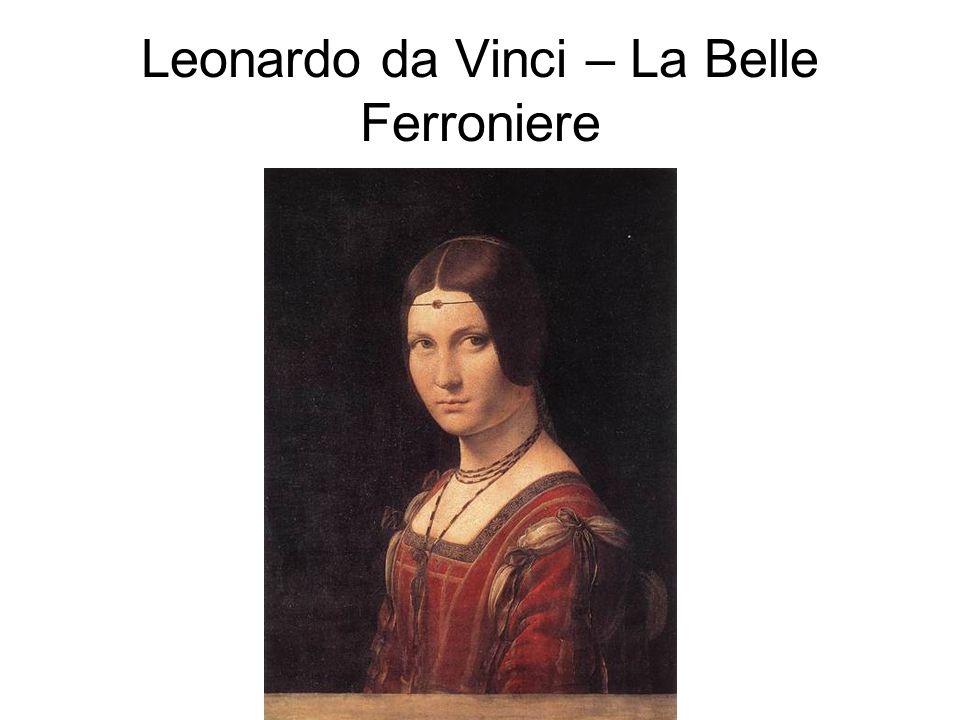 Leonardo da Vinci – La Belle Ferroniere