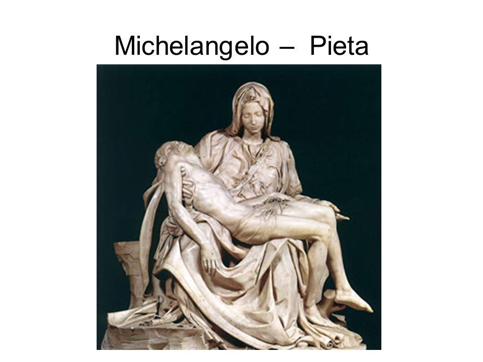 Michelangelo – Pieta
