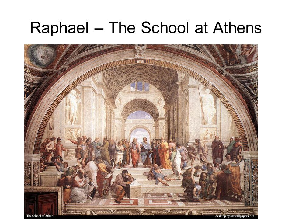 Raphael – The School at Athens