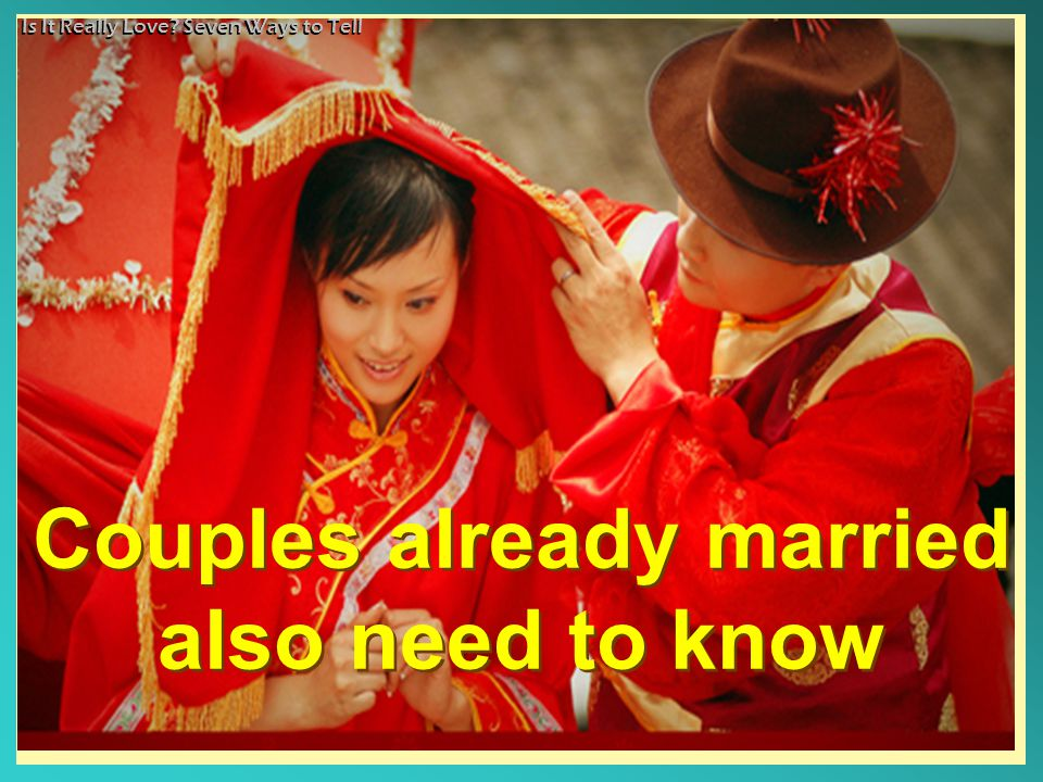 Is It Really Love.Seven Ways to Tell How can I improve my love life.