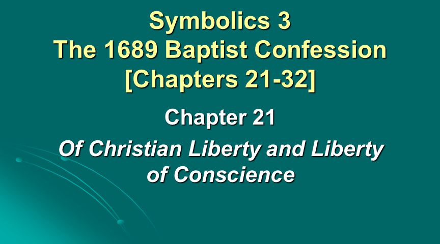 Introduction: Setting of Chapter 21 PART 1: THE FOUNDATIONS OF CHRISTIAN THOUGHT (CH 1-9) PART 1: THE FOUNDATIONS OF CHRISTIAN THOUGHT (CH 1-9) PART 2: THE OVERVIEW OF GOD'S SALVATION (CH 10-20) PART 2: THE OVERVIEW OF GOD'S SALVATION (CH 10-20) PART 3: THE SURVEY OF DIVINE INSTITUTIONS (CH 21-30) PART 3: THE SURVEY OF DIVINE INSTITUTIONS (CH 21-30) PART 4: THE TRUTHS ABOUT THE COMING WORLD (CH 31, 32) PART 4: THE TRUTHS ABOUT THE COMING WORLD (CH 31, 32)