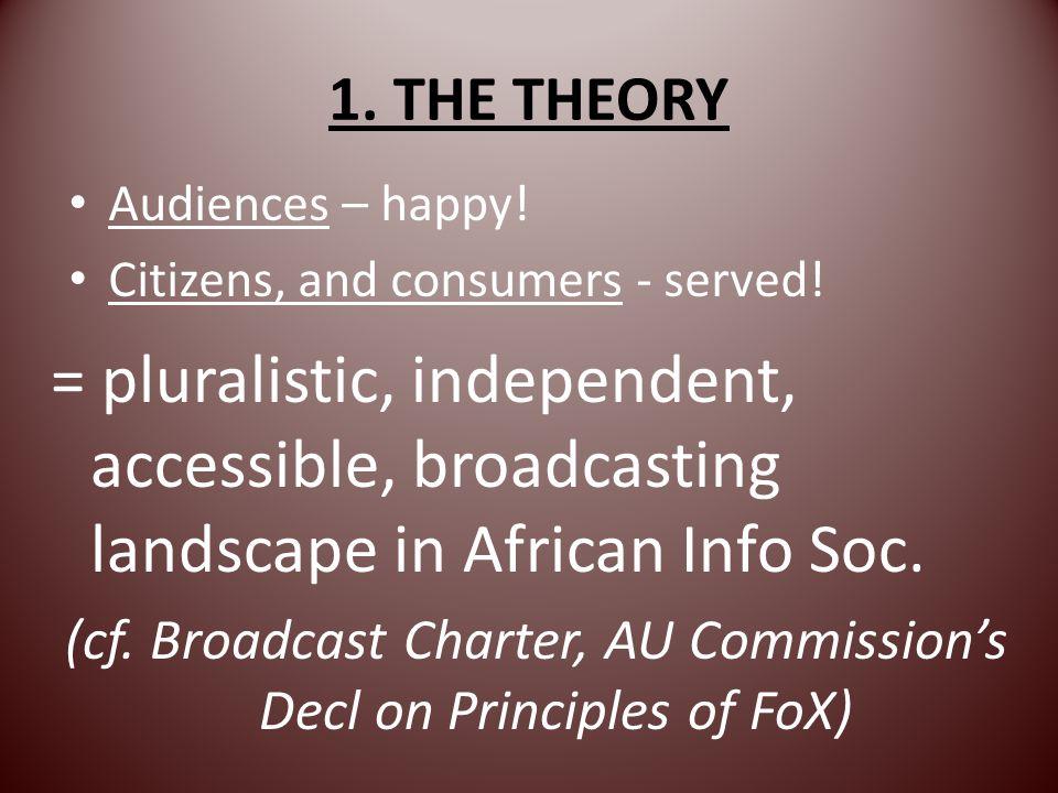 Three steps to 3 tier system 1.Community broadcasting 2.Private broadcasting 3.Public broadcasting Through liberalisation, privatisation, public-isation =