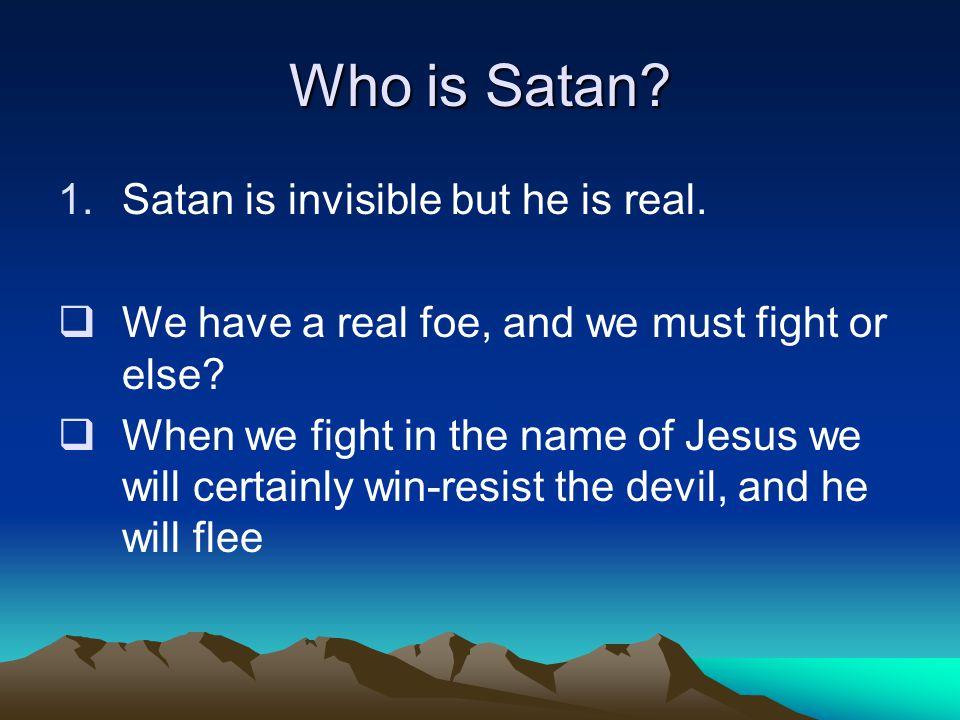 How does Satan work.3.