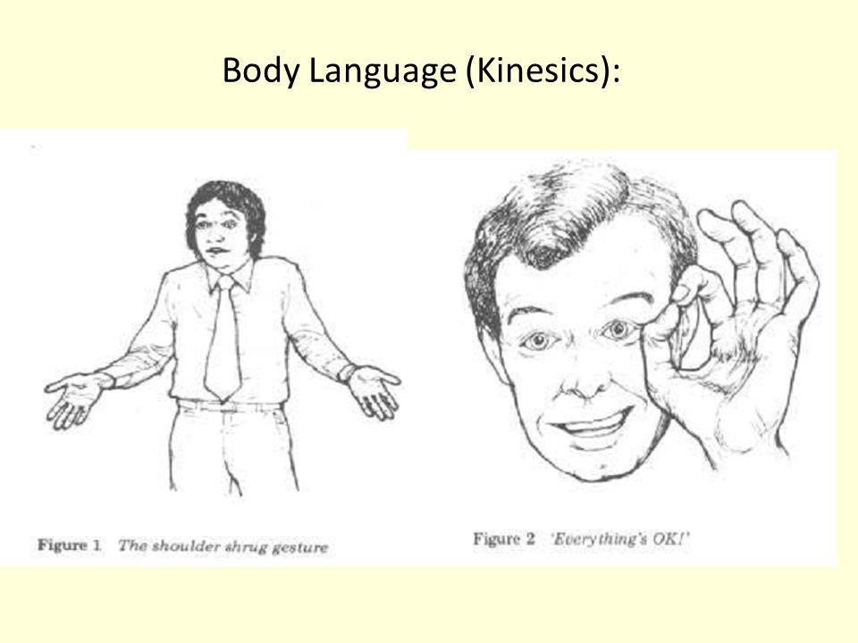 Body Language (Kinesics):