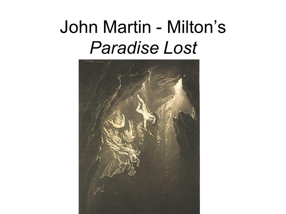 John Martin - Milton's Paradise Lost