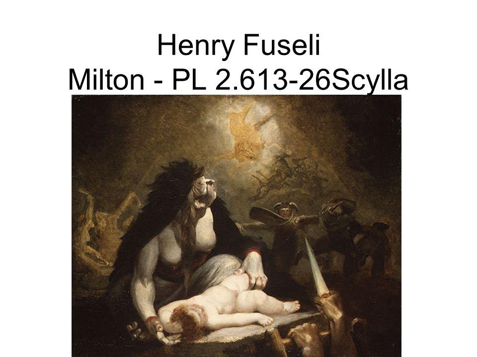 Henry Fuseli Milton - PL 2.613-26Scylla