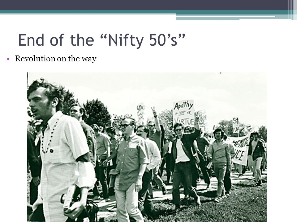 """End of the """"Nifty 50's"""" Revolution on the way"""
