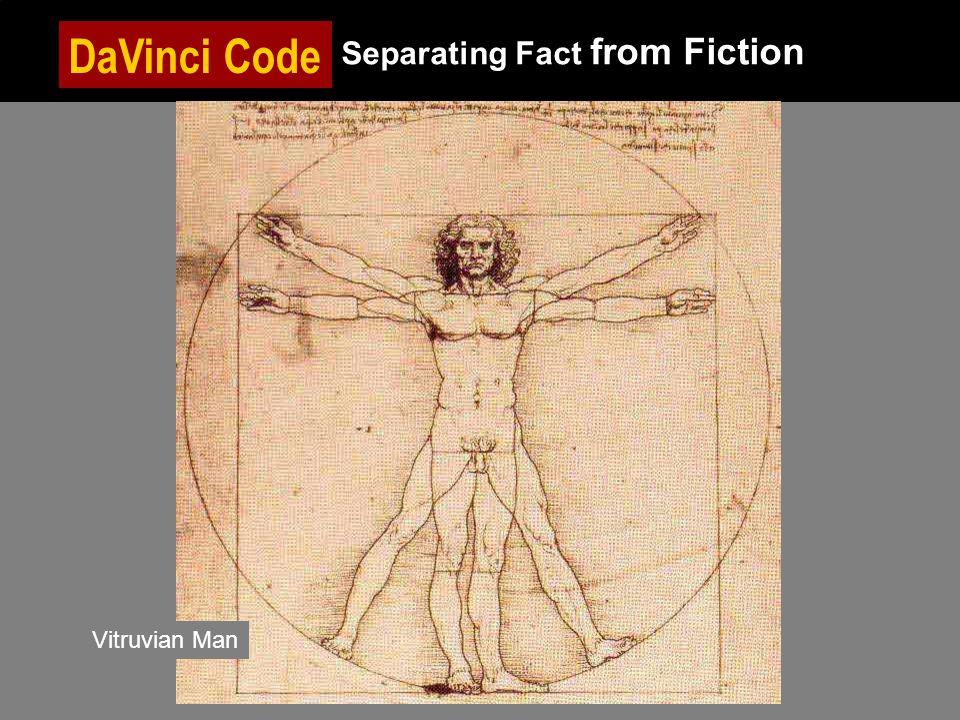 DaVinci Code Separating Fact from Fiction Vitruvian Man