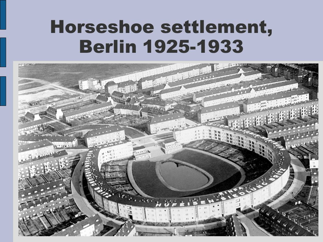 Horseshoe settlement, Berlin 1925-1933