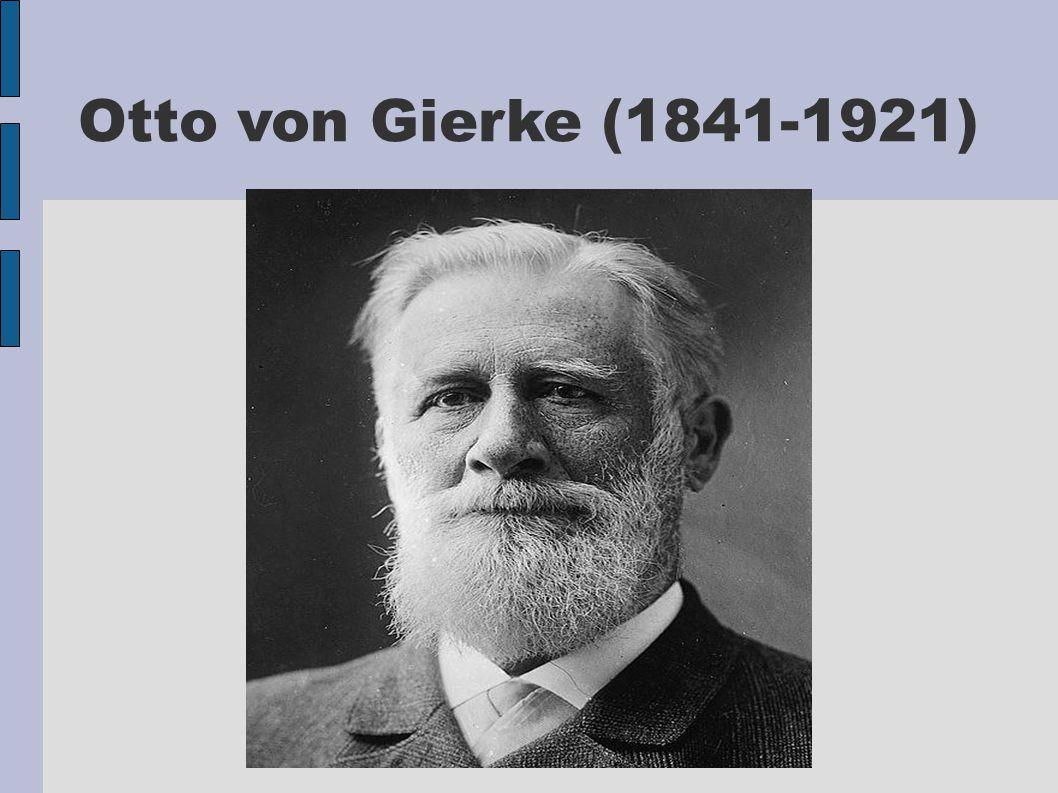 Otto von Gierke (1841-1921)