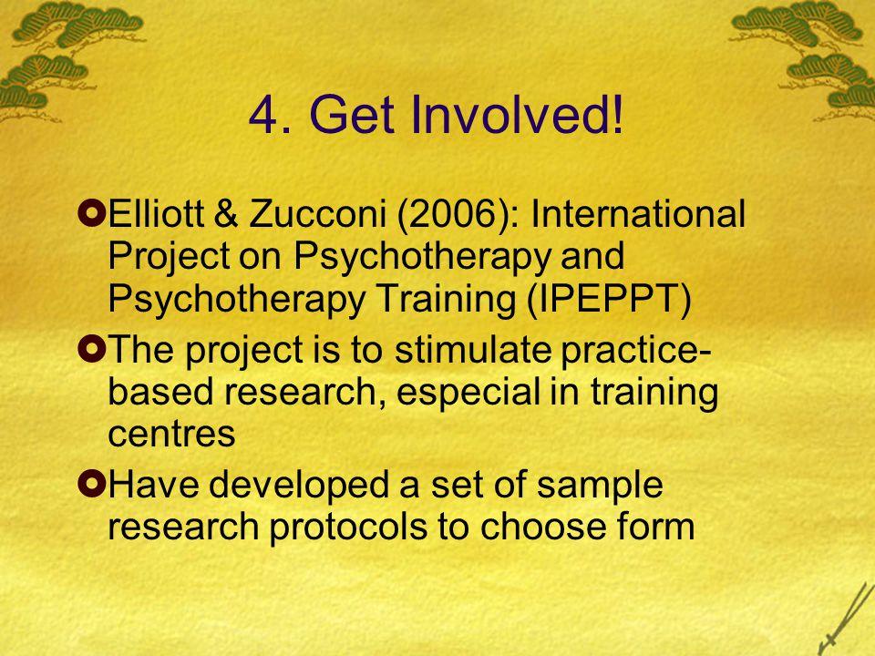 4. Get Involved.
