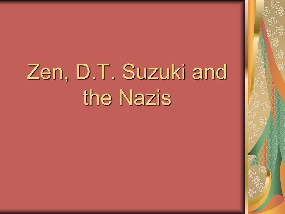 Part One Suzuki and Nazis in Japan