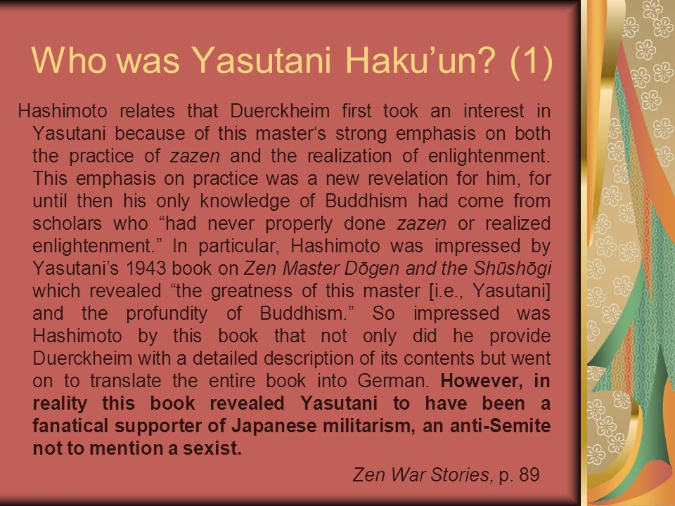 Who was Yasutani Haku'un.