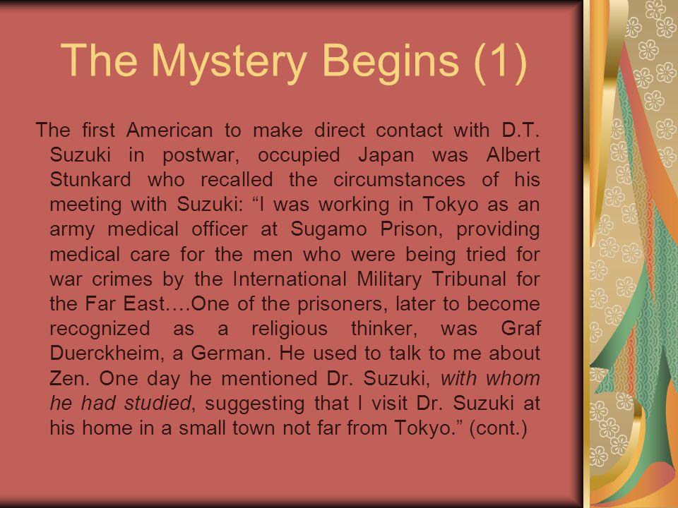 Duerckheim & Suzuki (2) Suzuki is one of the greatest contemporary Zen Masters.