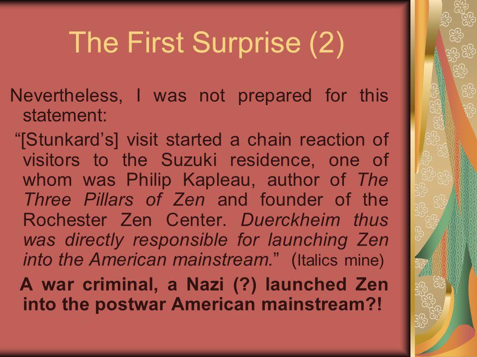Suzuki & the Rosenkrantzes (3) Professor Suzuki remained silent for a while.