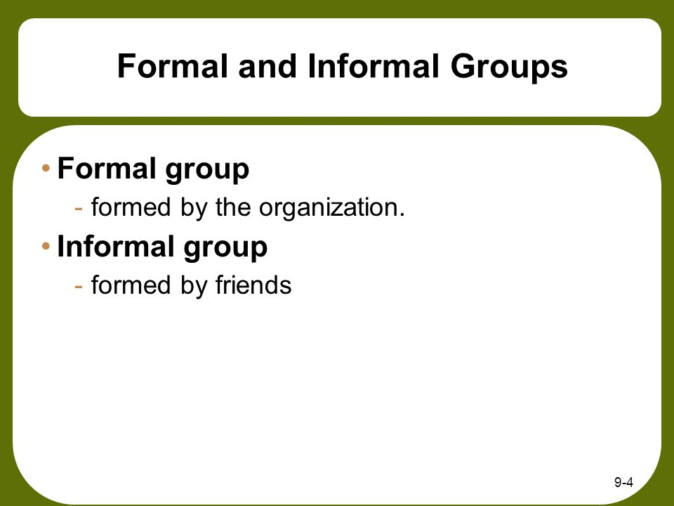 9-35 Threats to Group and Team Effectiveness Groupthink -Janis's term for cohesive in-group's unwillingness to realistically view alternatives.