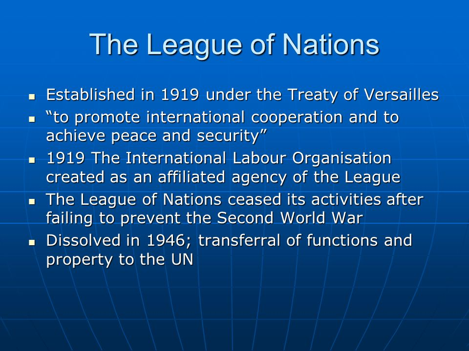 United Nations: Name The term UN was coined by Franklin D.