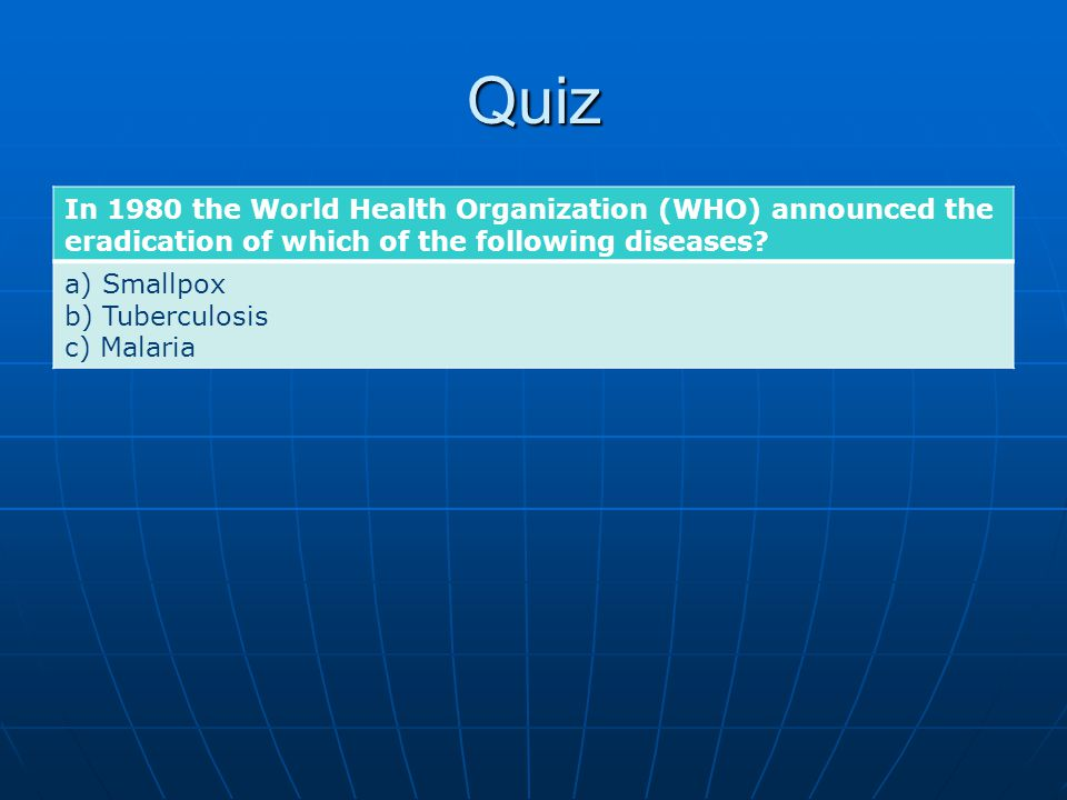 Quiz Which of these three UN agencies was awarded the Nobel Peace Prize twice.