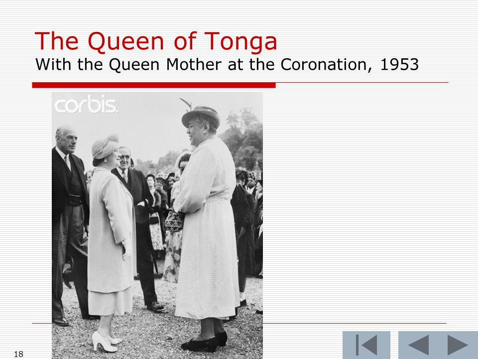 Could promising exist without promissory institutions? 17 The Kingdom of Tonga