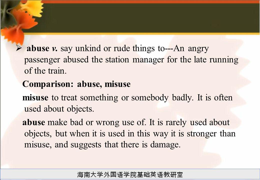  abuse v.