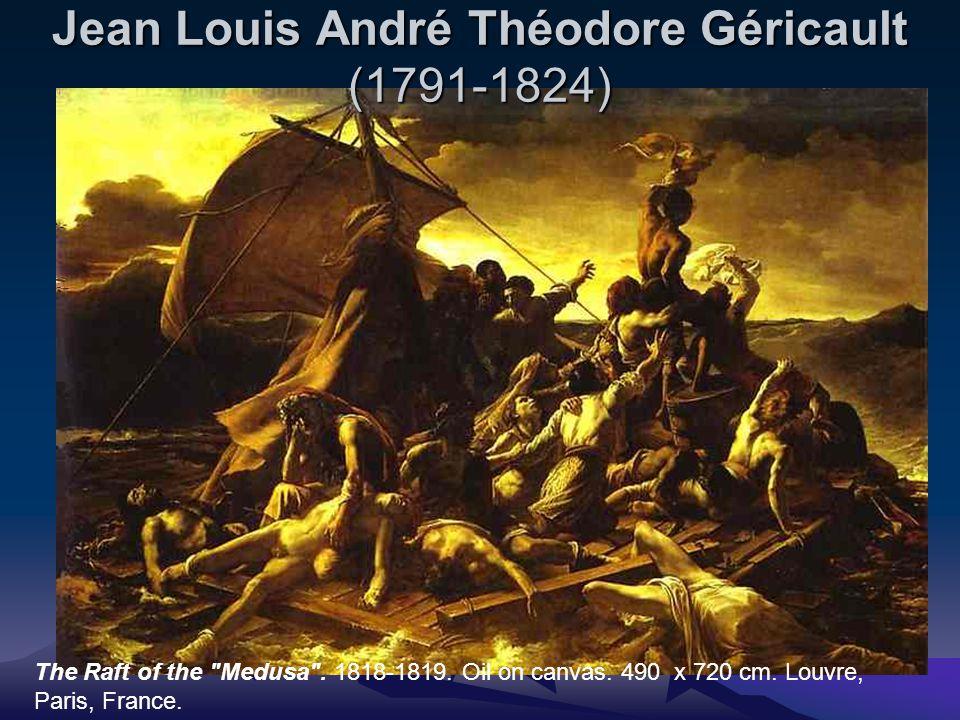 Jean Louis André Théodore Géricault (1791-1824) The Raft of the Medusa .