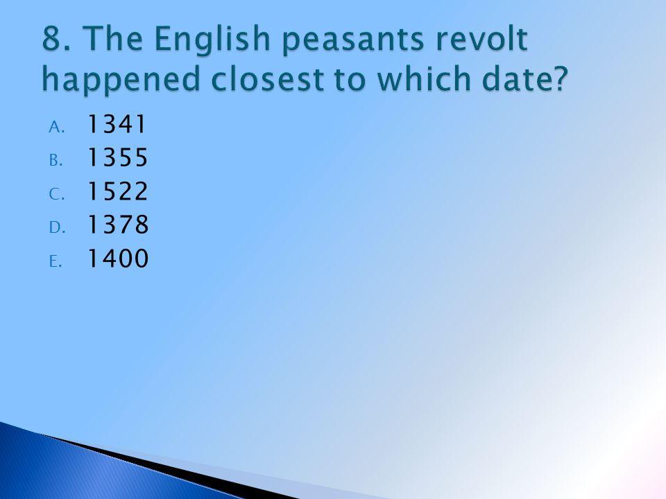 A. 1341 B. 1355 C. 1522 D. 1378 E. 1400