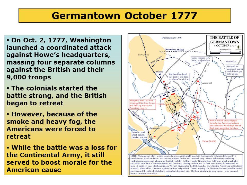 14 Germantown October 1777  On Oct.