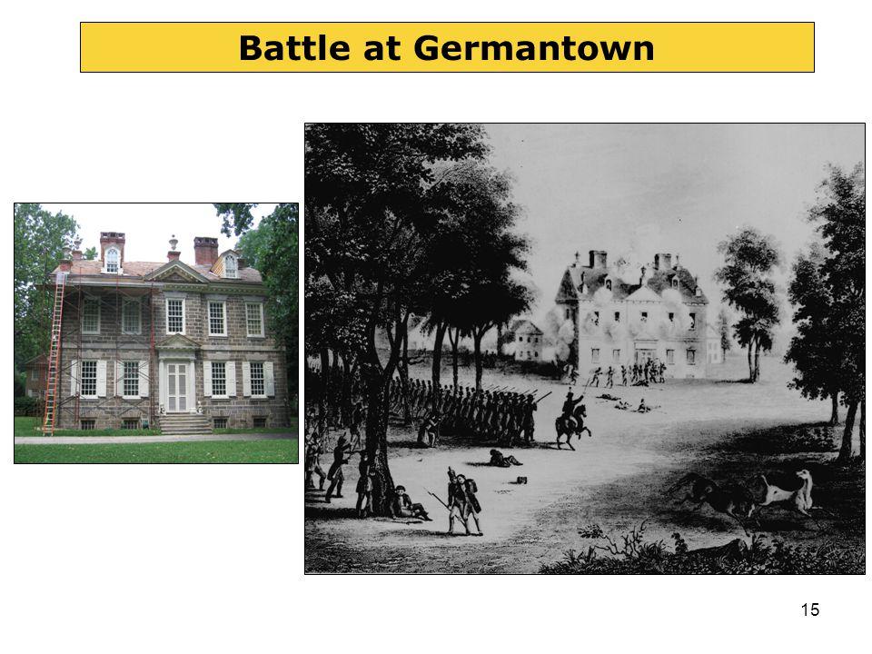 15 Battle at Germantown