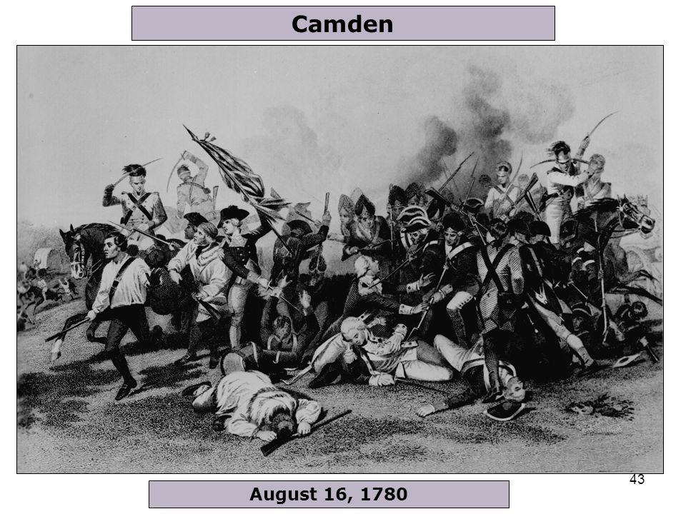43 August 16, 1780 Camden
