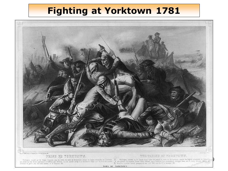 49 Fighting at Yorktown 1781