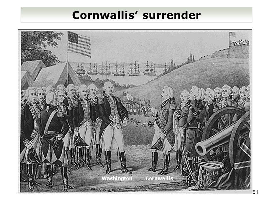 51 Cornwallis' surrender WashingtonCornwallis