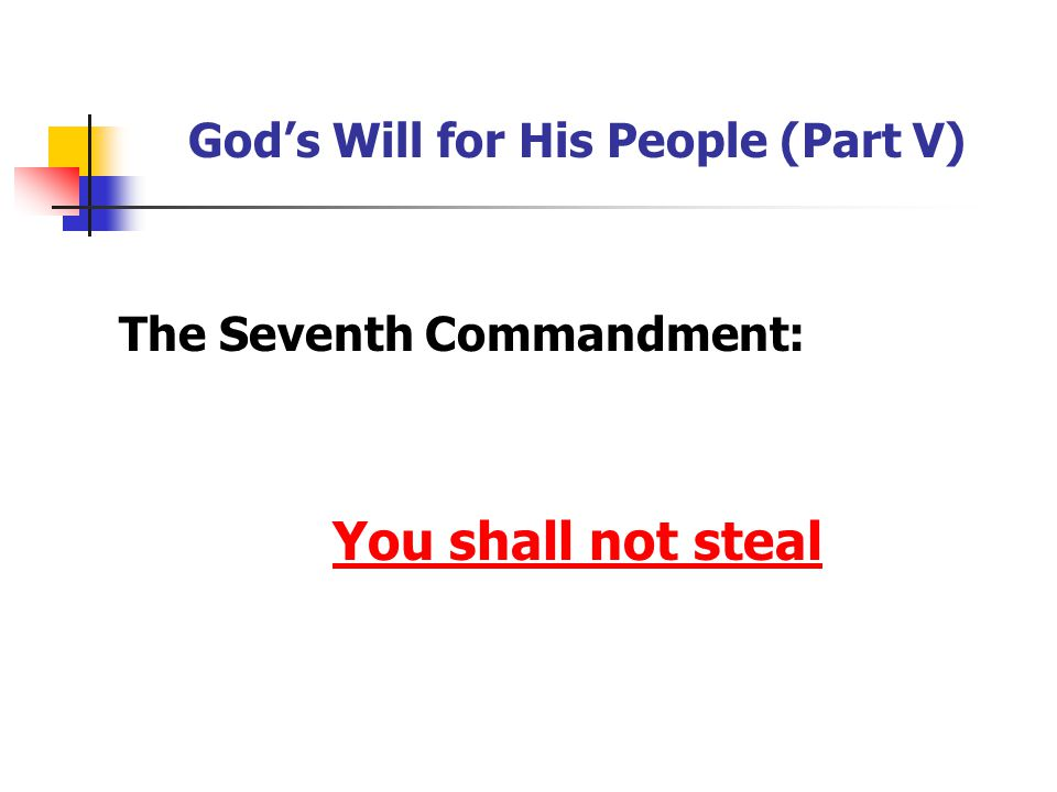 His Word in My Life Agree or disagree: It's impossible to break this commandment if you just keep your mouth shut.