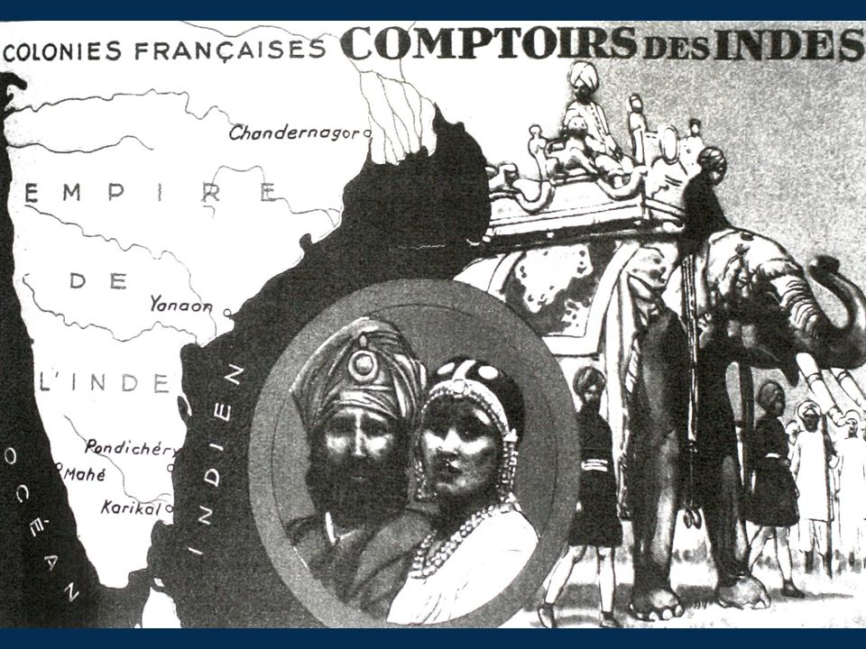 exotic b and w Comptoirs des Indes
