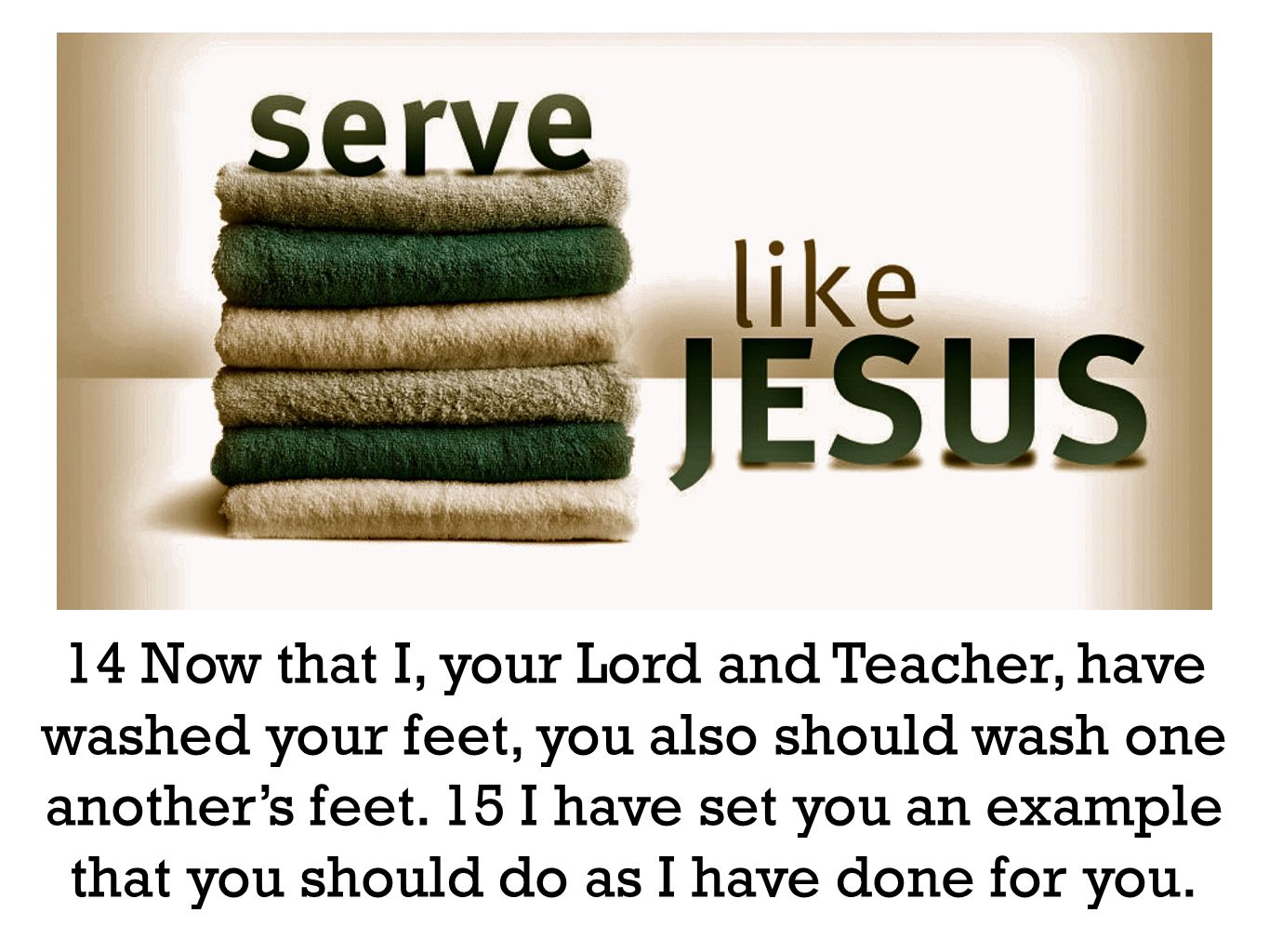 16 Very truly I tell you, no servant is greater than his master, nor is a messenger greater than the one who sent him.