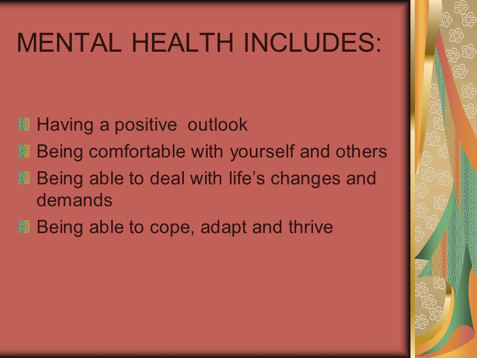 YOUR MENTAL HEALTH CH 8 SELF-ESTEEM