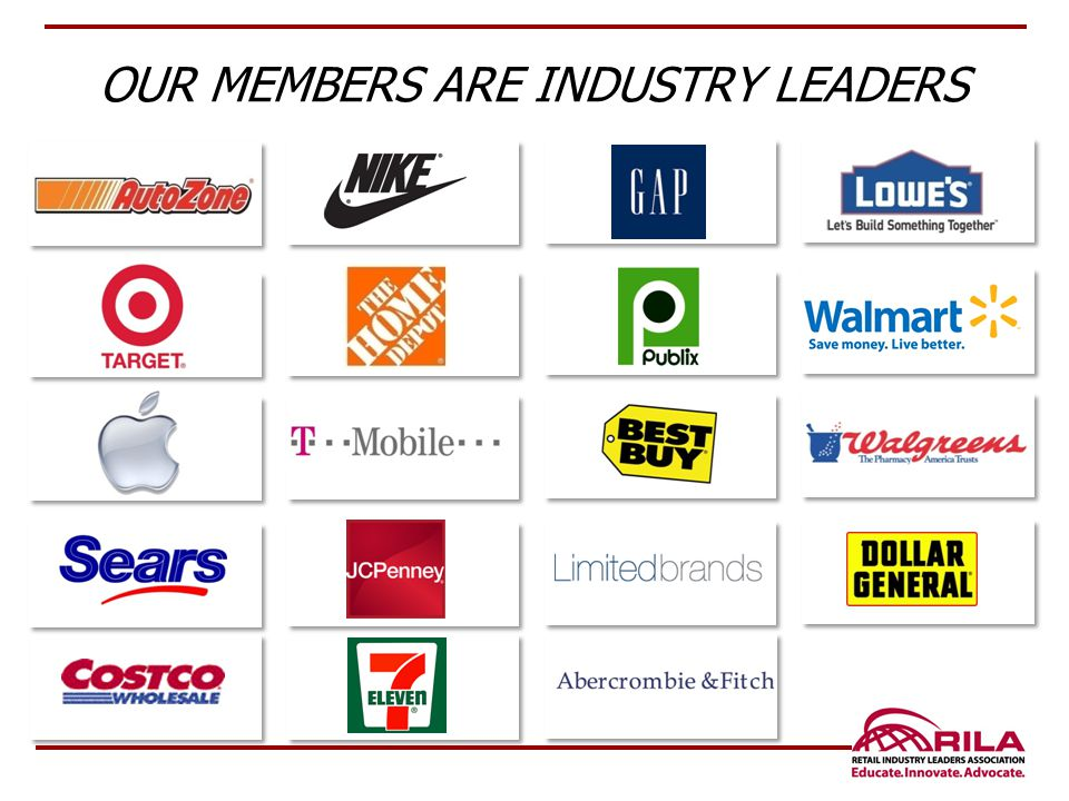 OUR MEMBERS ARE INDUSTRY LEADERS