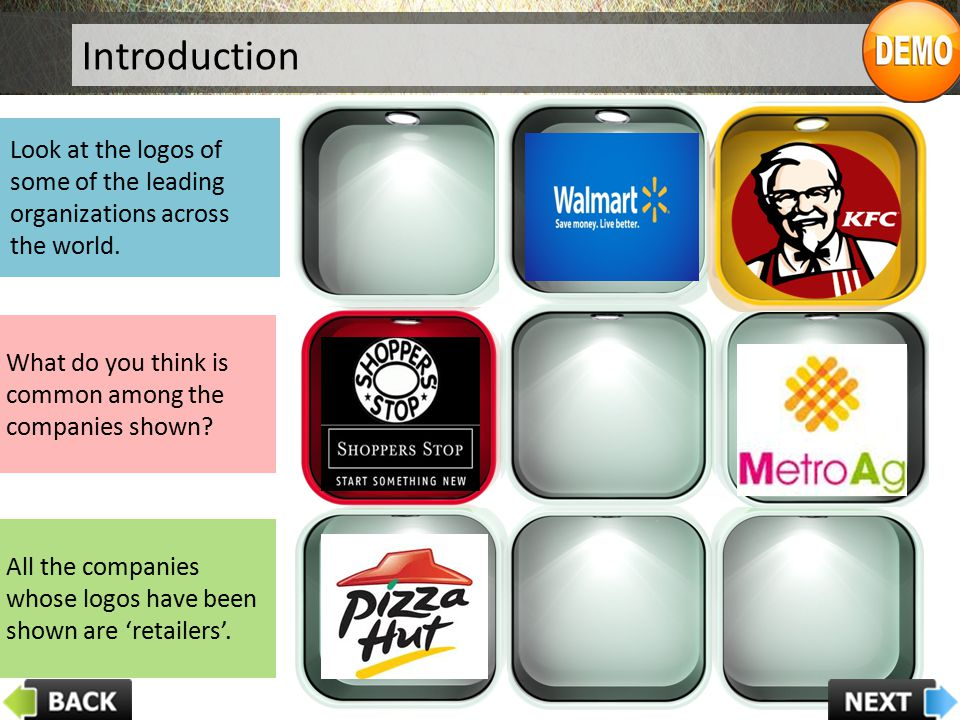 Introduction Look at the logos of some of the leading organizations across the world. What do you think is common among the companies shown? All the c