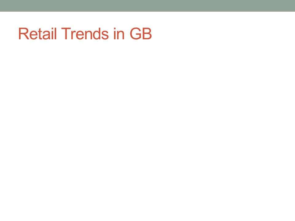 Retail Trends in GB