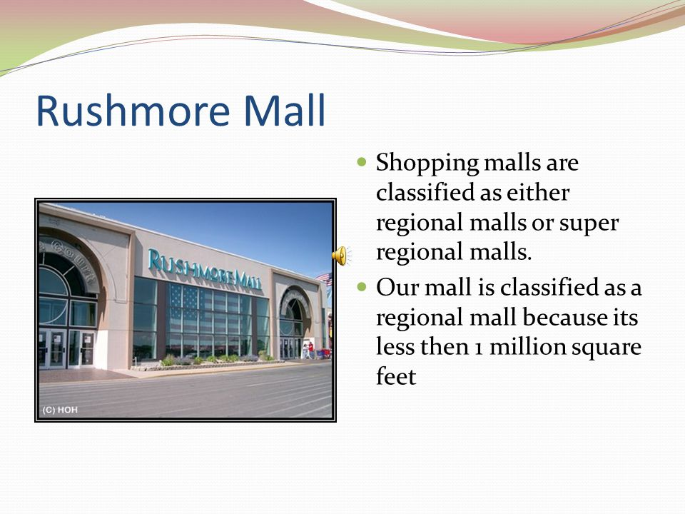 Disadvantages of Shopping Malls Occupancy cost are higher than those of strip centers, freestanding sites, most central business districts Retailers may not like mall managements control of their operations Strict rules governing store displays and signage Competition within shopping centers can be intense Similar merchandise sold in a close proximity