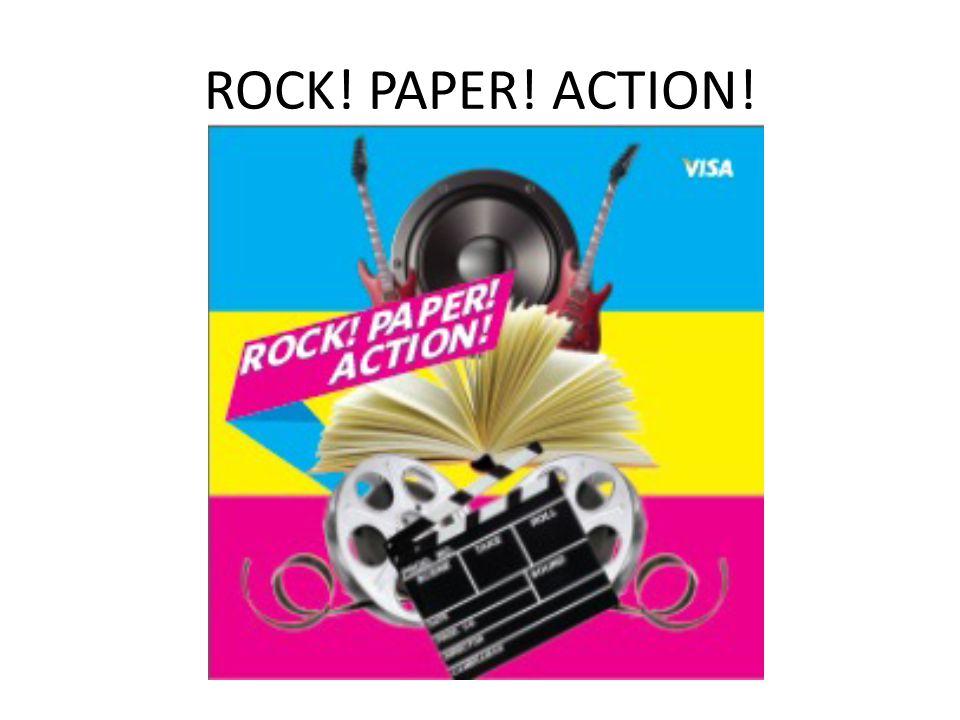 ROCK! PAPER! ACTION!