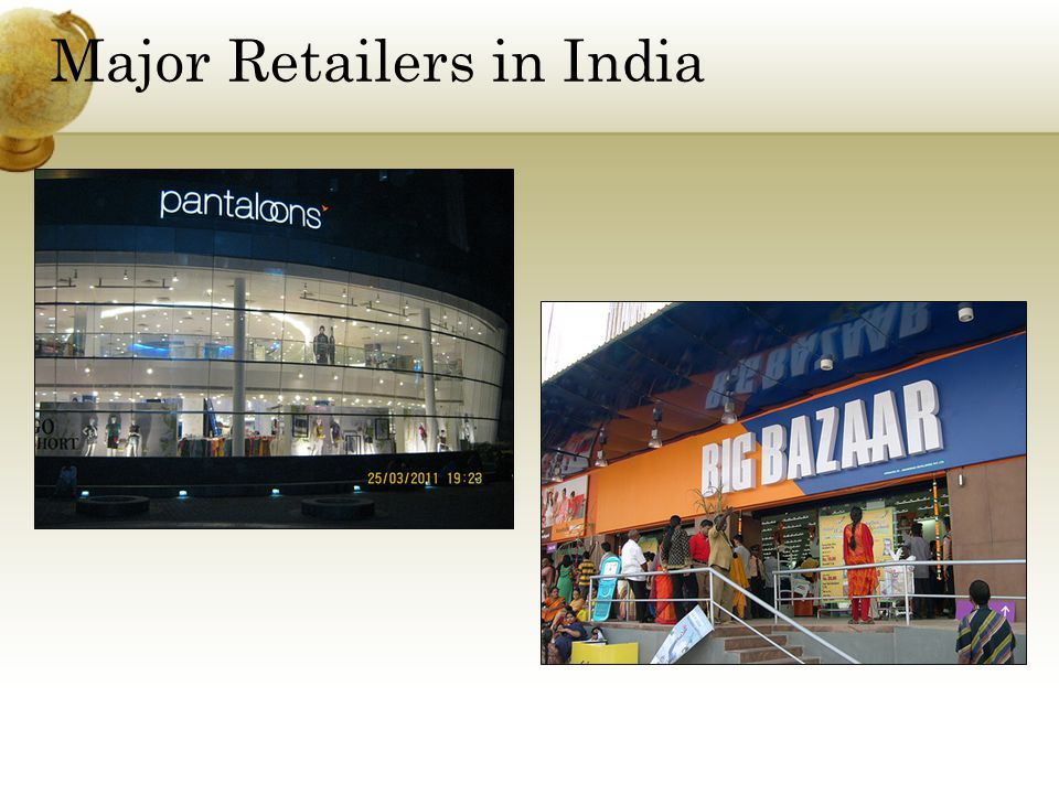 Major Retailers in India