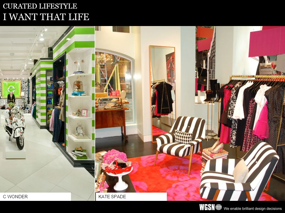 CURATED LIFESTYLE I WANT THAT LIFE C WONDERKATE SPADE