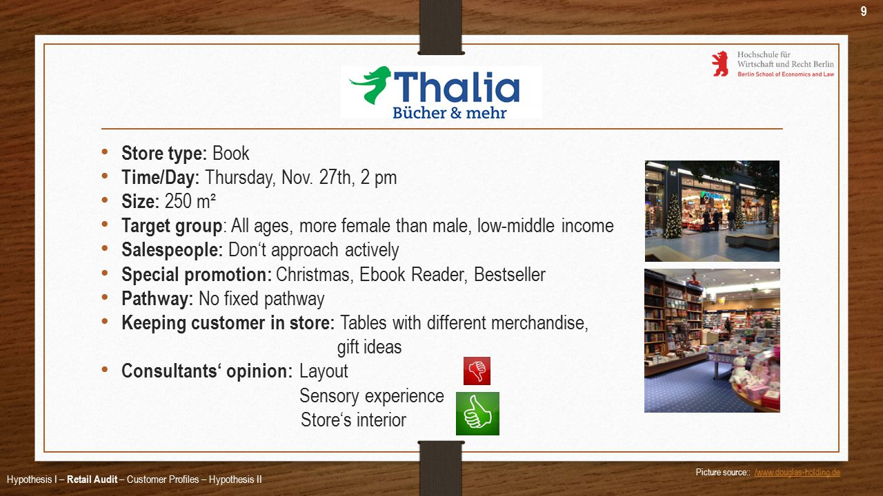 Store type: Book Time/Day: Thursday, Nov.