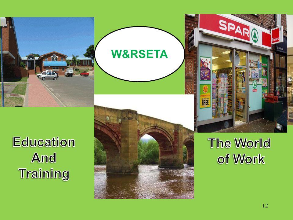 . W&RSETA 12