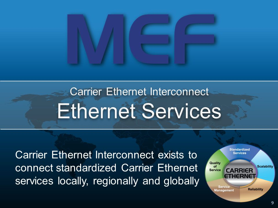 50 Attribute 3: Quality of Service Direct Connect –Service provider (buyer) must ensure guaranteed QoS edge-to-edge –Pair must have a way to measure performance of seller's connection Carrier Ethernet Exchange –Facilitate of the enforcement and measurement of end-to-end services (FD, DV, FLR, availability) across the separate buyer and seller networks SLA Mechanism 1Mechanism 2 End Customer SLA Normalized SLAs SLA