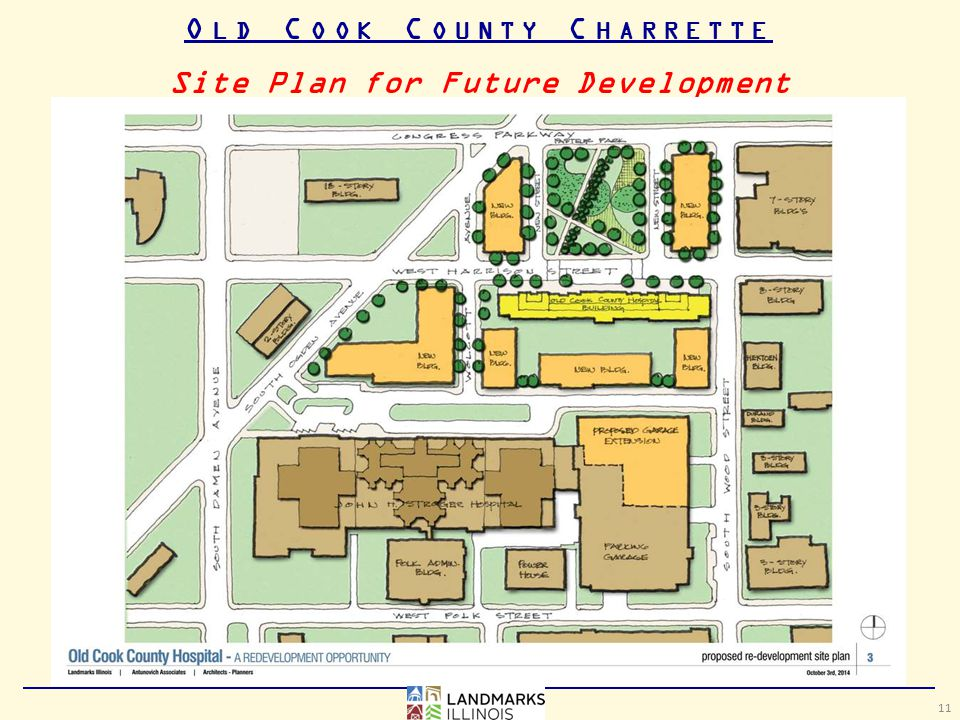 O LD C OOK C OUNTY C HARRETTE Site Plan for Future Development 11