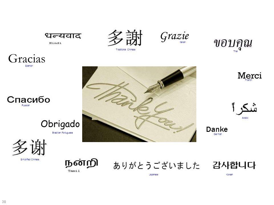 38 Merci Grazie Gracias Obrigado Danke Japanese French Russian German Italian Spanish Brazilian Portuguese Arabic Traditional Chinese Simplified Chine