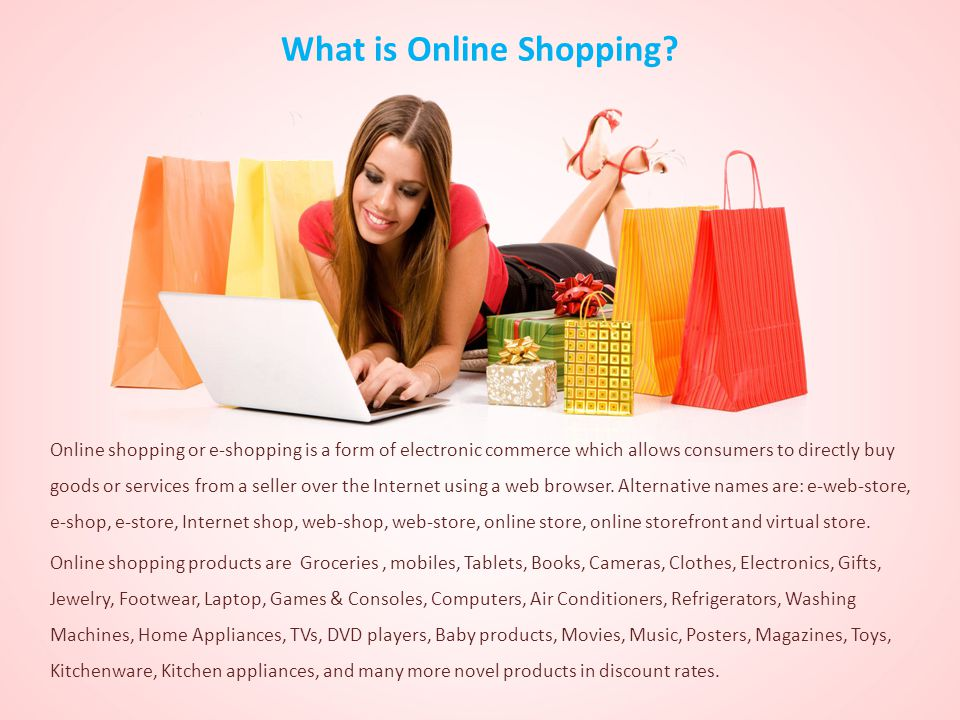 What is Online Shopping.